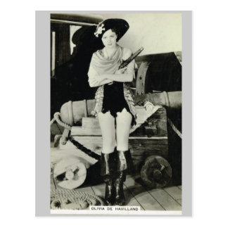 Carte Postale Olivia de Haveilland