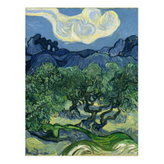 Carte Postale Oliviers par Van Gogh