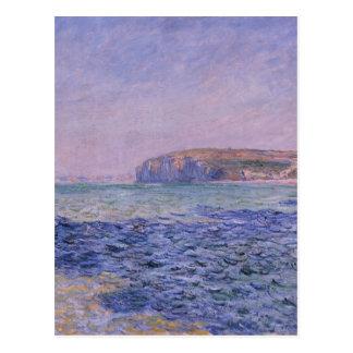 Carte Postale Ombres sur la mer. Les falaises chez Pourville