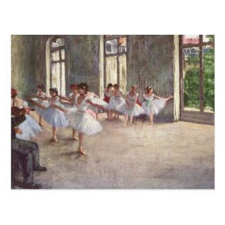 Carte Postale Ont dégazé la répétition de ballet