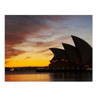 Carte Postale Opéra de l'Australie, Nouvelle-Galles du Sud,