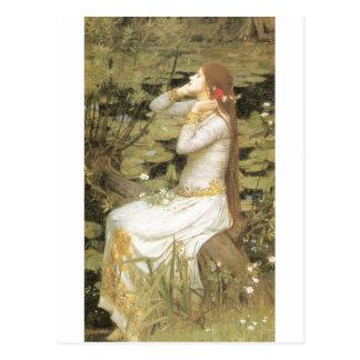 Carte Postale Ophélie - John William Waterhouse (1894)
