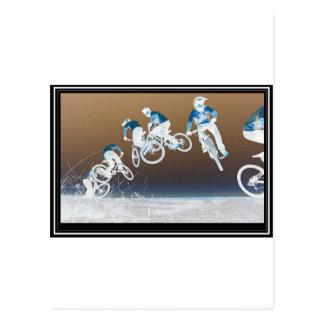 Carte Postale Ordre de vélo de montagne