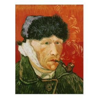 Carte Postale Oreille et tuyau bandés, Vincent van Gogh