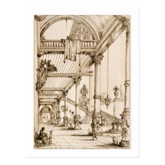 Carte Postale Oreillette d'un palais, dans les gènes, du 'art et
