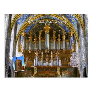 Carte Postale Organe de cathédrale d'Albi
