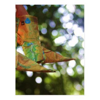 Carte Postale Origami