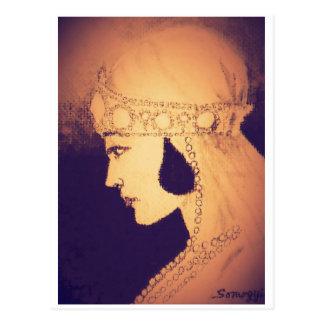 Carte postale originale d'art--jeune mariée des