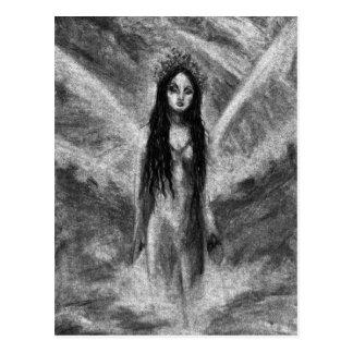 Carte postale originale féerique d art d ange