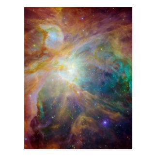 Carte Postale Orion dans l'infrarouge