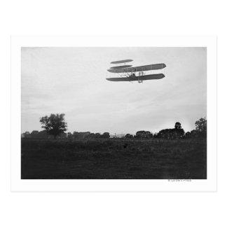 Carte Postale Orville Wright sur le vol 41 à 60 pieds -