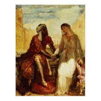 Carte Postale Othello et Desdemona à Venise, 1850