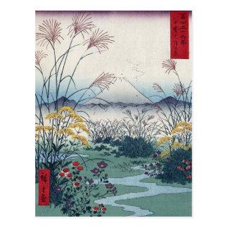 Carte Postale Otsuki met en place par Hiroshige, Japonais