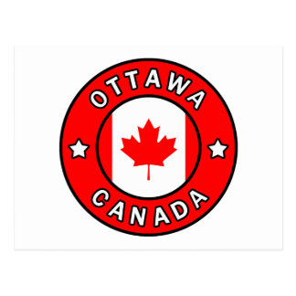 Carte Postale Ottawa Canada