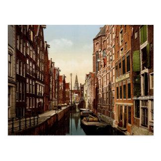 Carte Postale Oudezijds Kolk Amsterdam