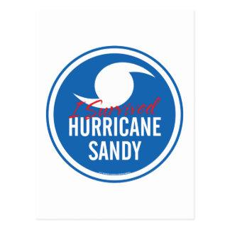 Carte Postale Ouragan Sandy