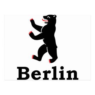 Carte Postale Ours de Berlin