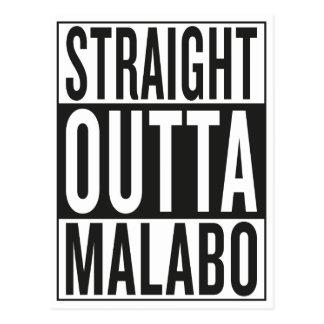 Carte Postale outta droit Malabo