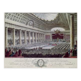 Carte Postale Ouverture du général de domaines à Versailles