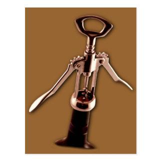 Carte Postale Ouvreur de vin
