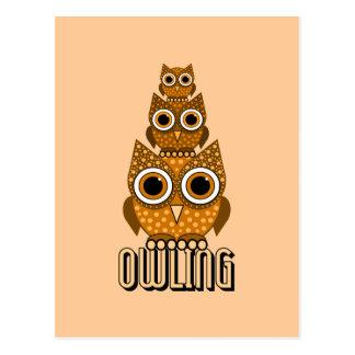 Carte Postale owling