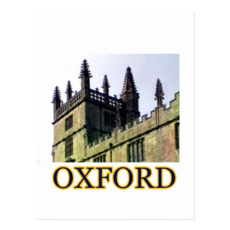 Carte Postale Oxford Angleterre 1986 construisant se développe