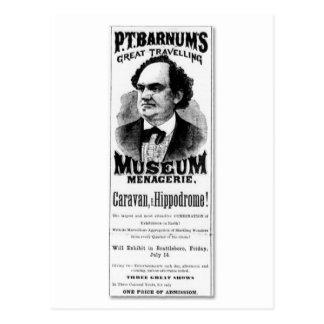 Carte Postale P.T. Grande ménagerie de déplacement du musée de