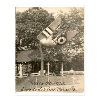 Carte Postale PA de Moosic de parc d'attractions de gorge de
