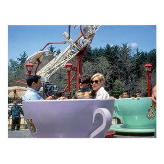 Carte Postale PA rocheuse de Moosic de parc d'attractions de