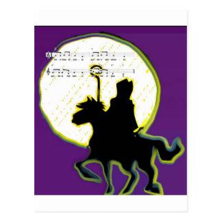 Carte Postale paard op de sinterklaas