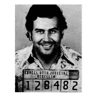 Carte Postale Pablo Emilio Escobar