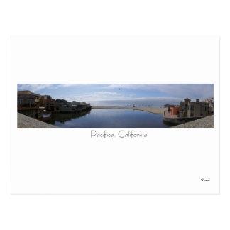Carte Postale Pacifica, la Californie