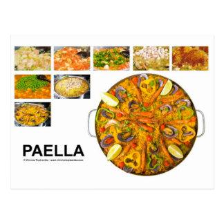 Carte Postale Paella