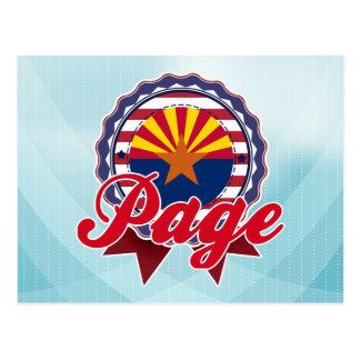 Carte Postale Page, AZ