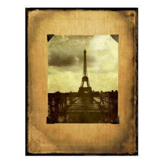 Carte Postale Page d'album Antiqued par Tour Eiffel