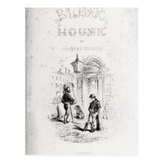Carte Postale Page titre 'de House morne