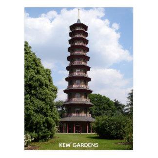 Carte Postale Pagoda chez Kew