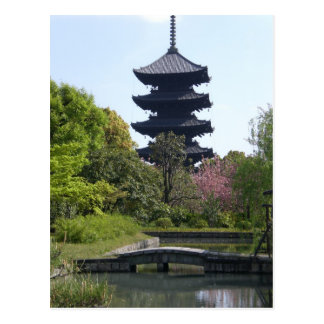 Carte Postale Pagoda de Kyoto