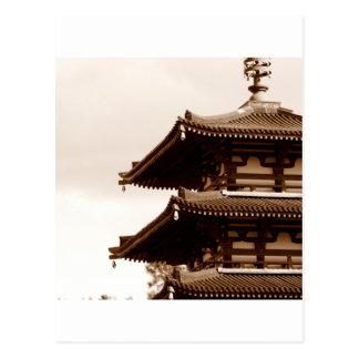 Carte Postale Pagoda de sépia