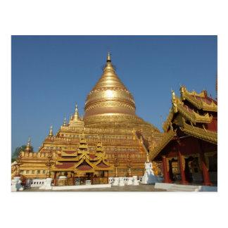 Carte Postale Pagoda de Sweseetgone