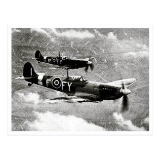 Carte Postale Paires de Spitfire