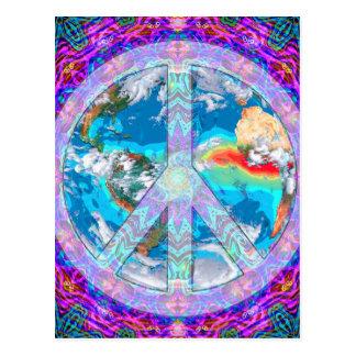 Carte Postale Paix du monde
