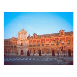 Carte Postale Palacio de Telmo siège en Séville, Espagne de