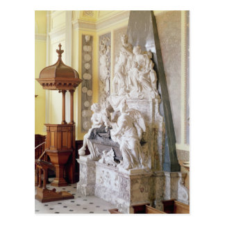 Carte Postale Palais de Blenheim, la chapelle, c.1705
