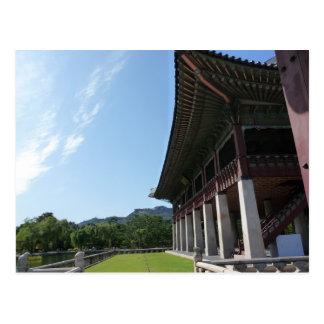 Carte Postale Palais de Gyeongbokgung