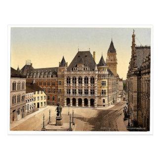 Carte Postale Palais de justice, Brême, Allemagne Pho magnifique