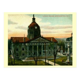Carte Postale Palais de justice, cru de Binghamton, New York