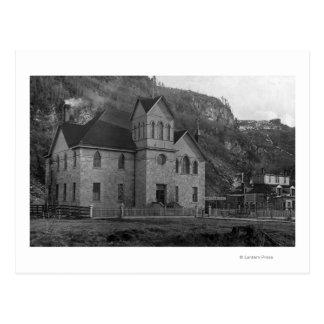 Carte Postale Palais de justice dans Skagway, photographie de