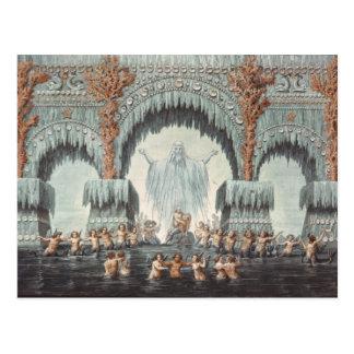 Carte Postale Palais de l'eau de Muehleborn