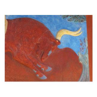 Carte Postale Palais de Minoan de Knossos RED BULL